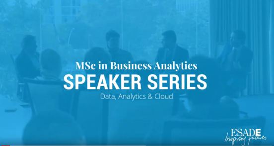 Encuentro con los estudiantes de ESADE – Master Internacional Business Analytics