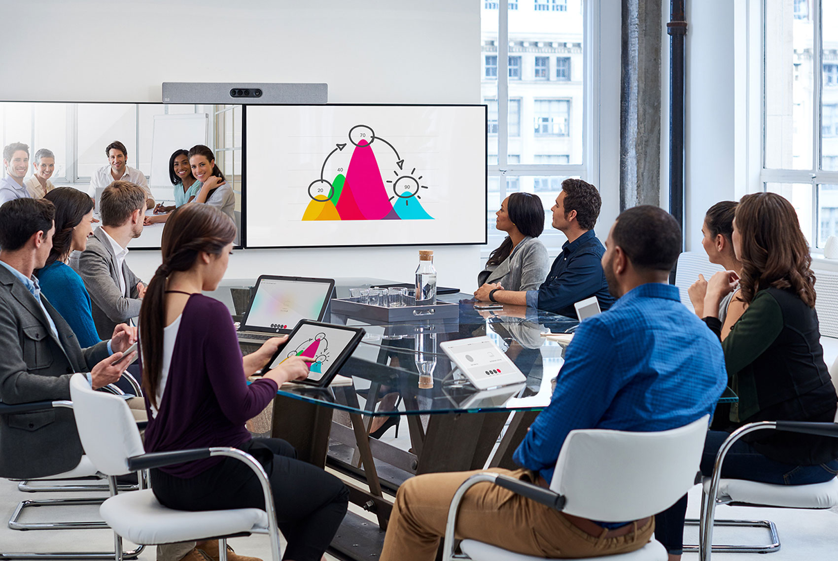 Cómo funciona Webex Teams y qué le permite hacer: características clave