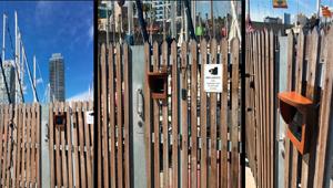 Control de acceso del port Olímpic de Barcelona