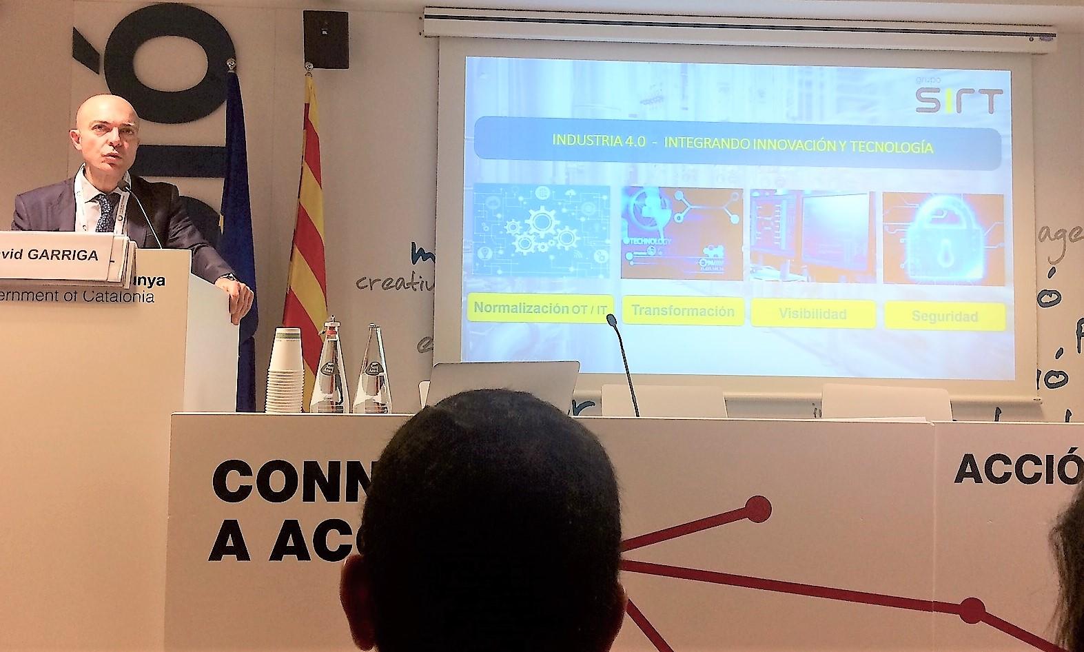Jornadas ACCIO, SIRT – Soluciones de transformación digital para la Industria 4.0