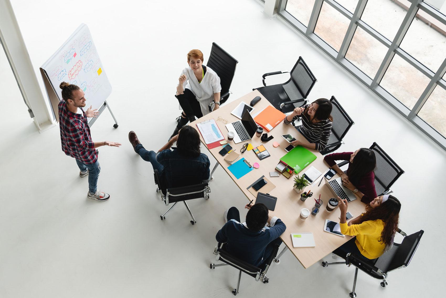 Tipos de soluciones de colaboración empresarial