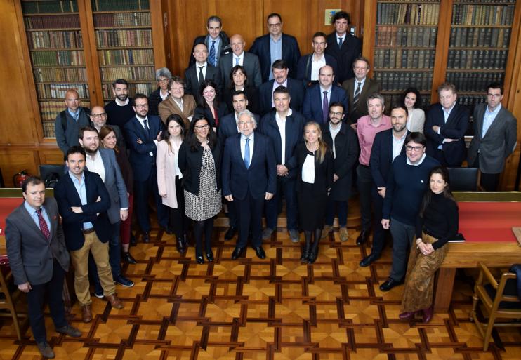 Asistimos a la primera reunión de las comisiones de Innovación, Sociedad Digital y Emprendimiento de Foment.