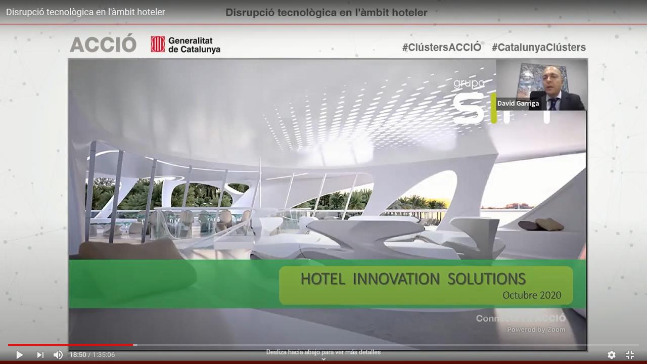 Cluster TIC Turismo – «La disrupción tecnológica en el sector hotelero», retos y soluciones tras la Covid-19